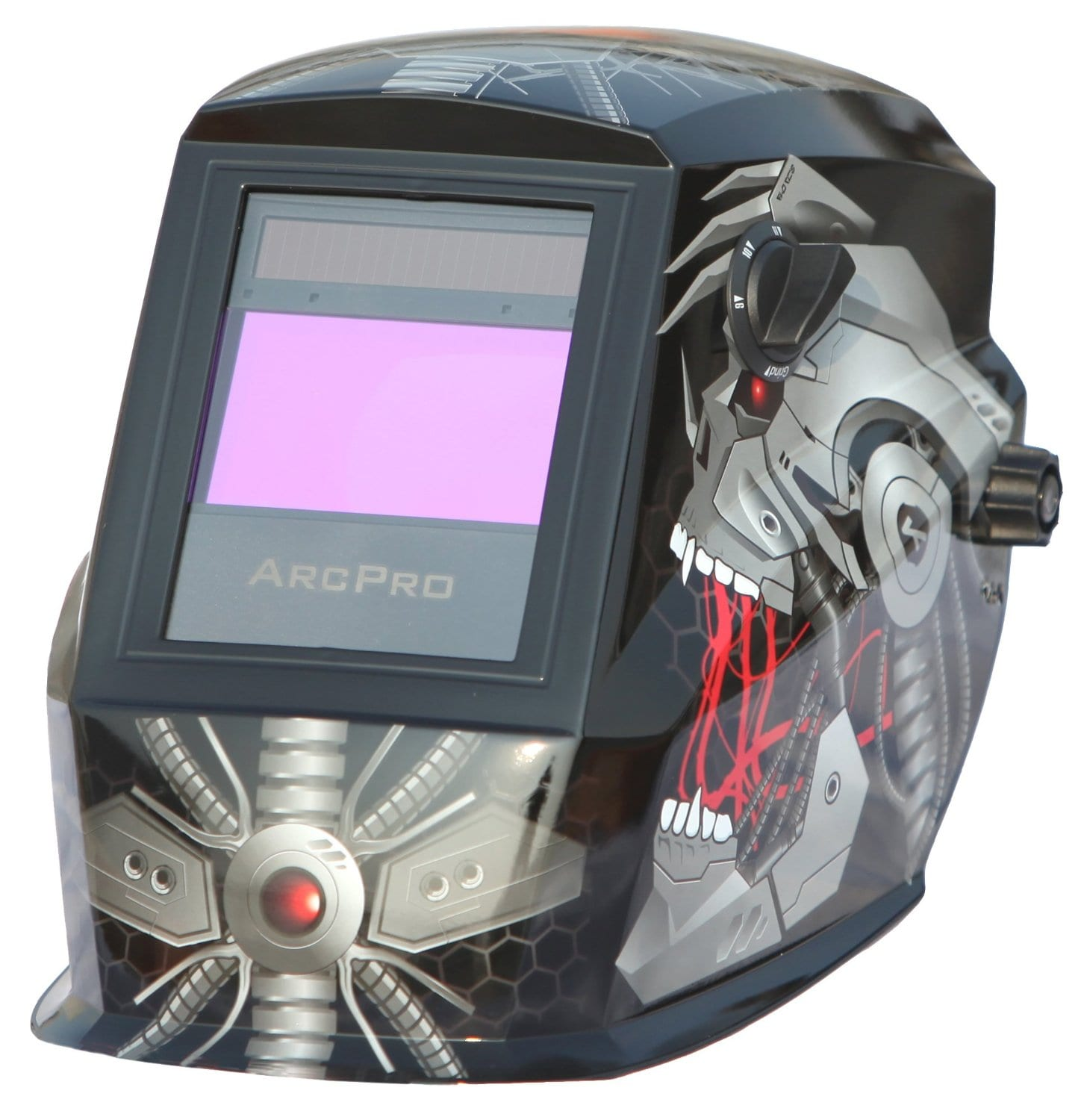 Arcpro 20704 auto darkening solar powered welding helmet with grinding review