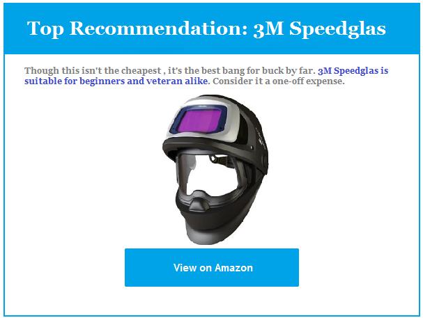 Top Recommendation welding helmet Review
