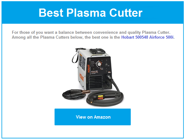 Best plasma cutter review 2016