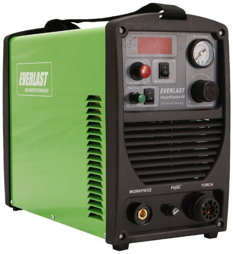 Everlast PowerPlasma 50 IGBT Plasma Cutter 50amp Arc Cutting System - our review