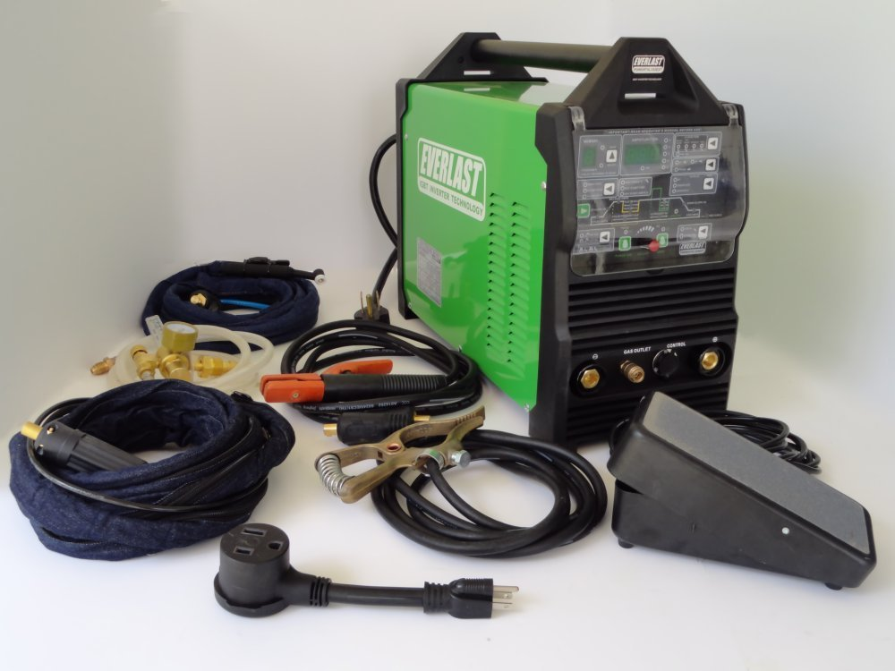 Everlast PowerTig 250EX TIG Stick Pulse Welder Review