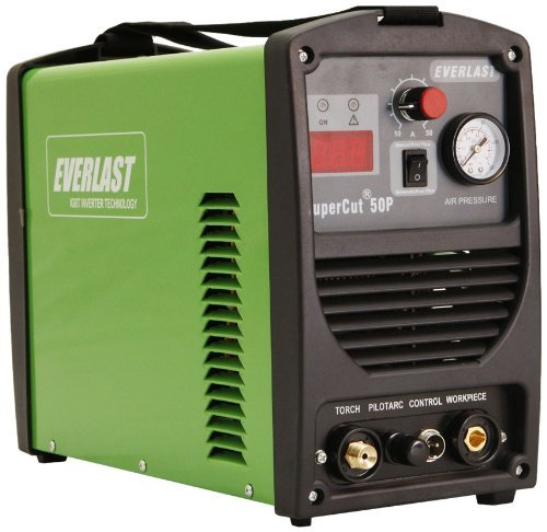 Everlast SuperCut 50 110v-220v Inverter Plasma Cutter 50amp Review