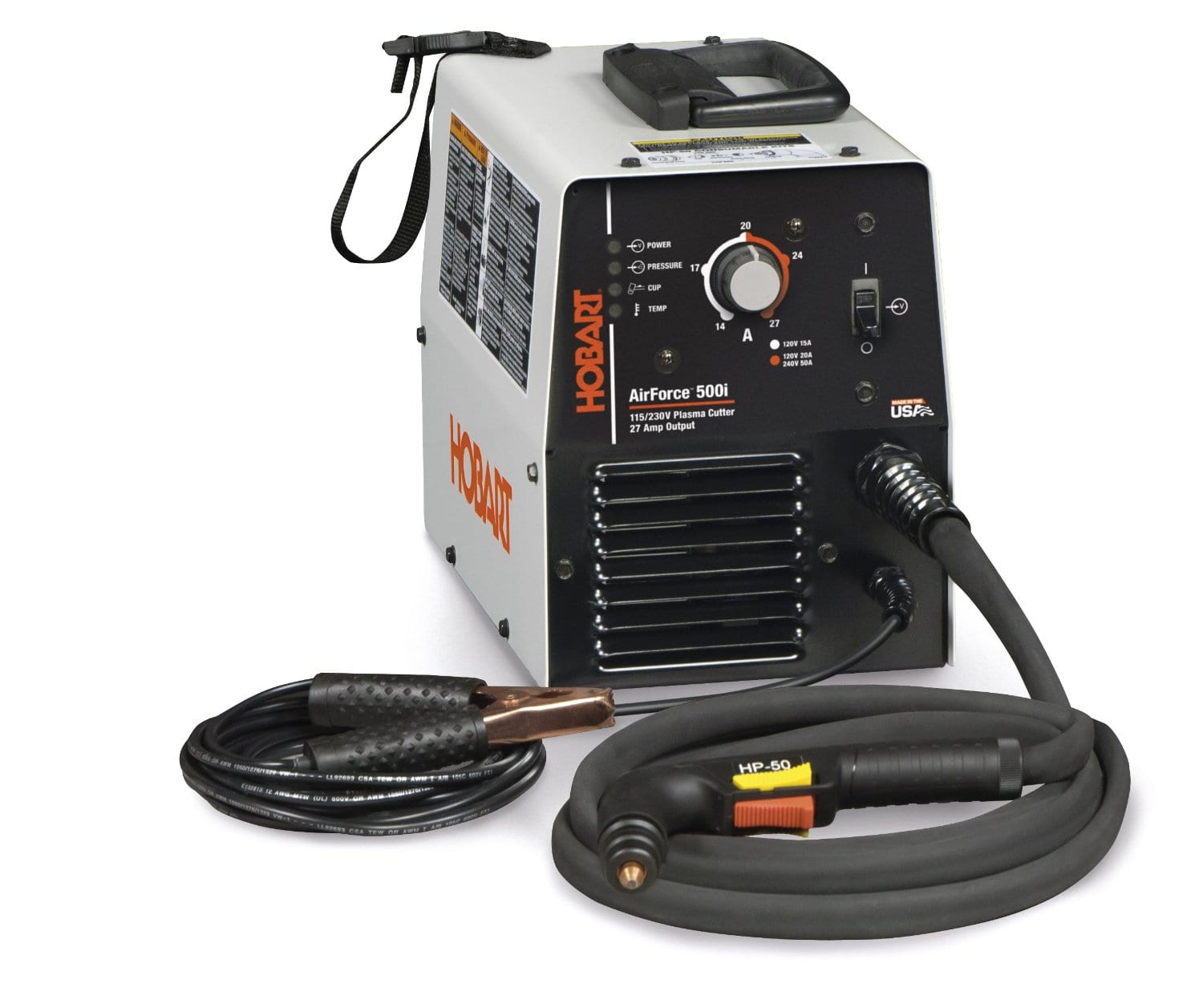 Best Hobart Plasma Cutter Review Our Top 4 Welding Stars 250 Mig Welder Wiring Diagram 500548 Airforce 500i 115 230 Volt