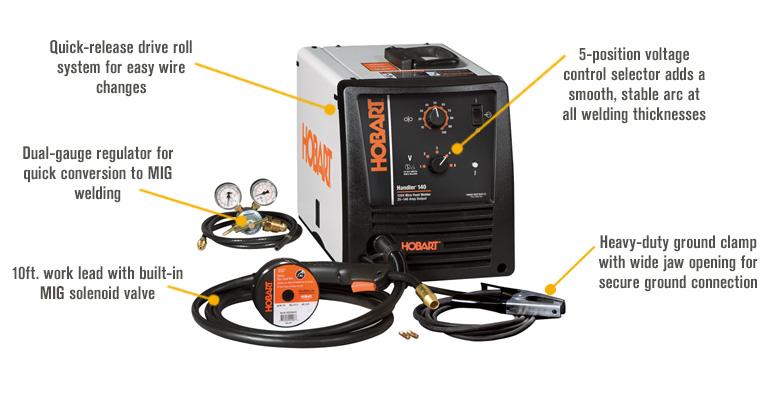 Hobart 500559 Handler wire welder reviewv-A