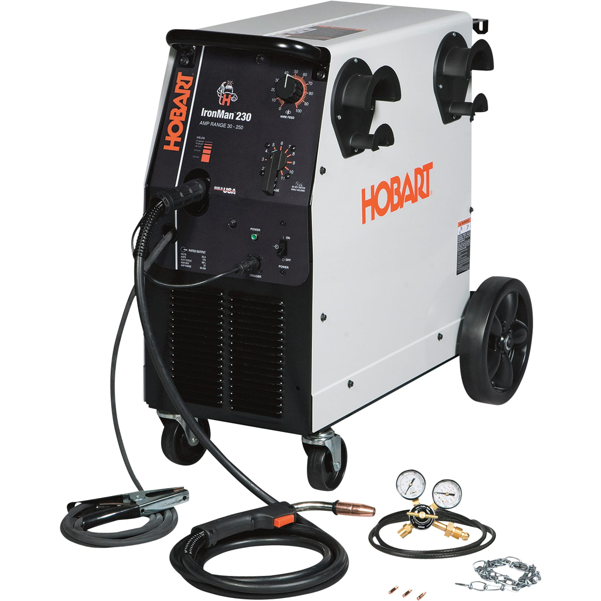 Hobart Ironman 230 MIG Welder Reviews 2 make a hobby your profession with the best welder with hobart hobart beta mig 250 wiring diagrams at crackthecode.co