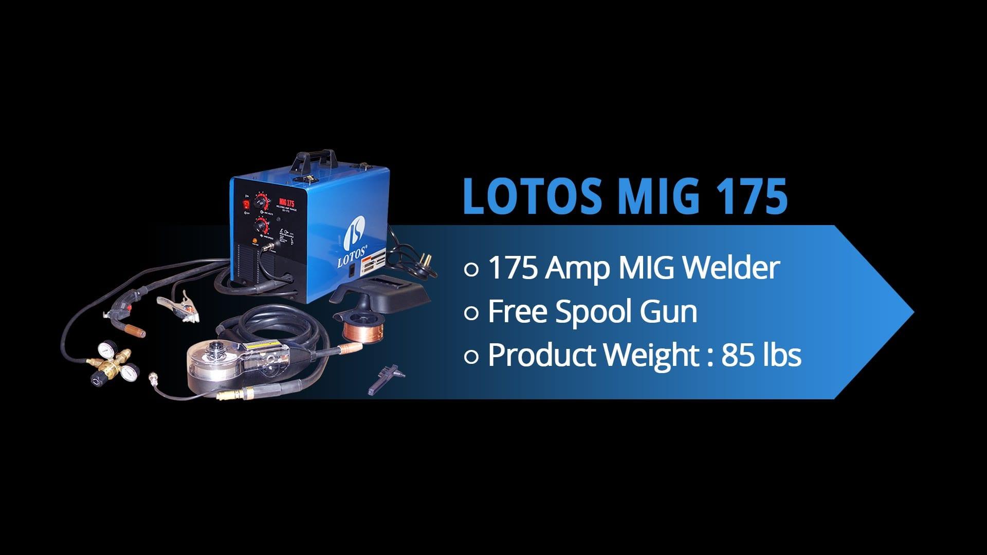 Lotos Mig 175 175 amp MIG Welder reviews 1