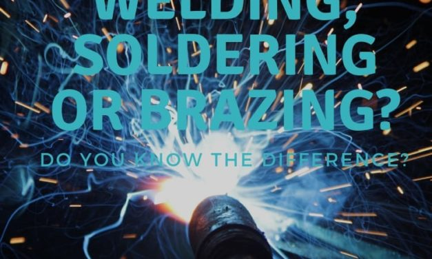 Welding, soldering, and brazing.  Do you know the difference?