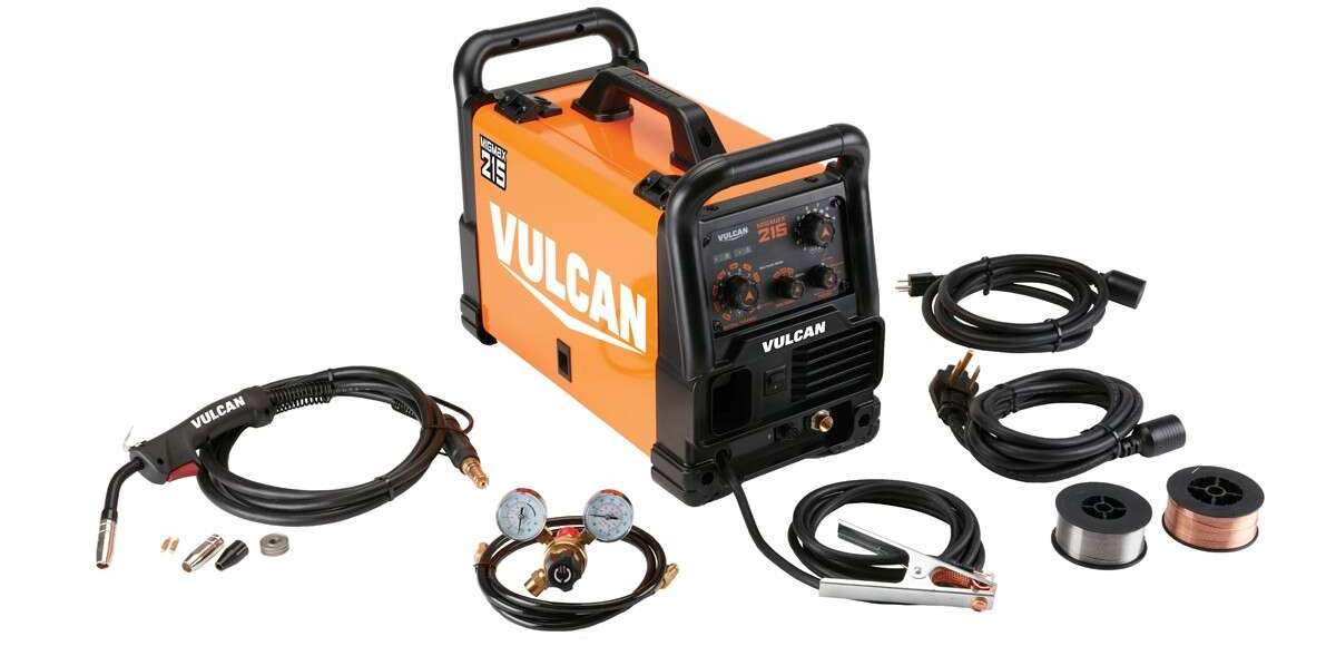 vulcan migmax 215 with accessories
