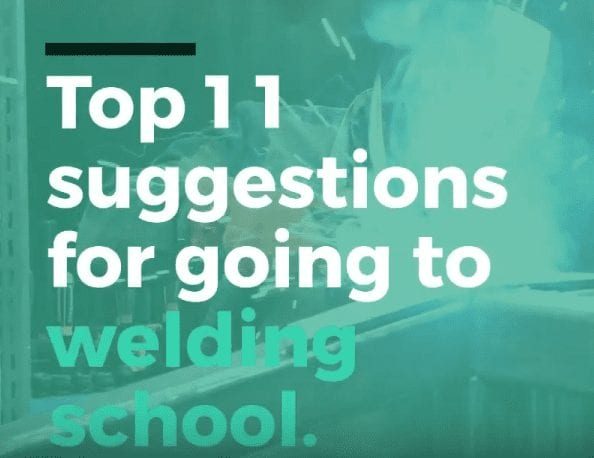 Top 10 tips for going to welding school