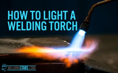 How to Light a Welding Torch Using Flint Striker