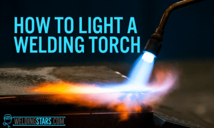 How to Light a Welding Torch Using Flint Striker